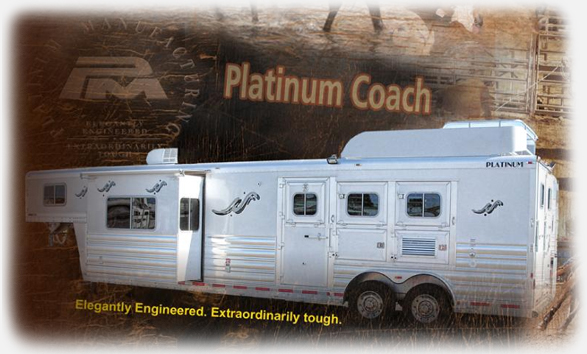 Horse Trailer Manufacturers at Shinin' B Trailer Sales | Living